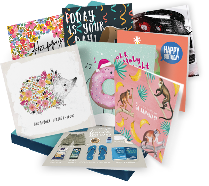 Greetings Card Subscription Box